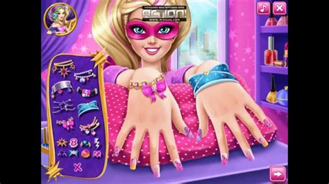 Play Barbie Disney Babysitter game online Y8 COM