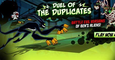 Play Ben 10 Duel of the Duplicates game online Y8 COM