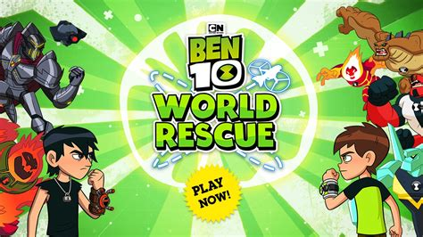Play Ben 10 games Free online Cartoon Network India