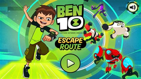 Play Ben 10 games for free Cartoon Network