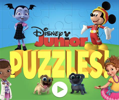 Play Free Childrens Games With Your Kids Disney Junior