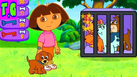 Play Free Online Dora Puppy Adventure Dora Games