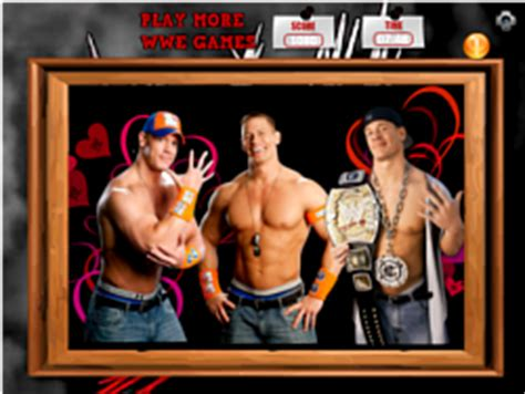 Play John Cena WWE Puzzle game online Y8 COM