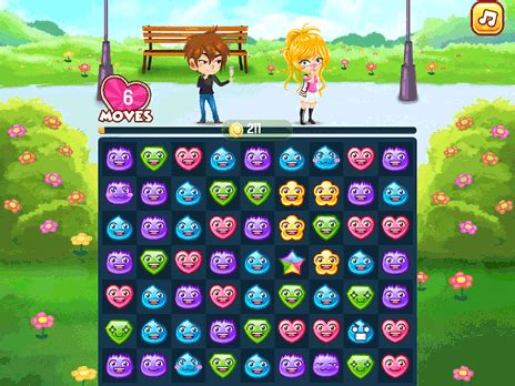 Play Love Match game online Y8 COM