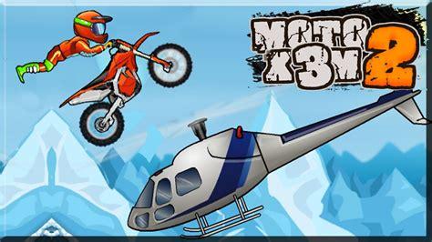 Play Moto x3m 2 Free Online Bike Game Unblocked Games