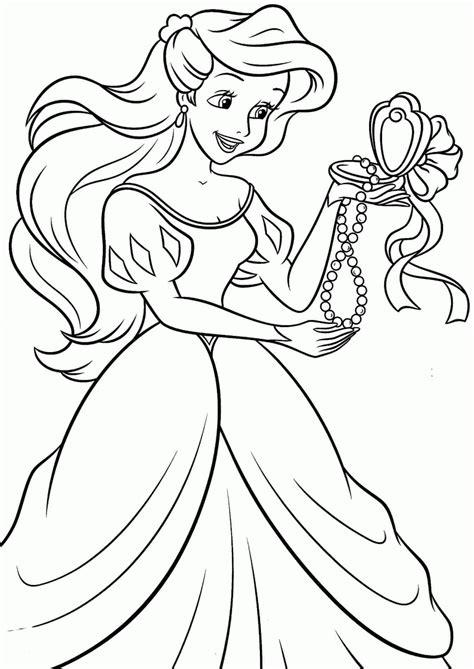 Play Princess Ariel Online Coloring page game online Y8 Com