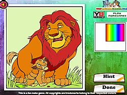 Play The Lion King Online Coloring game online Y8 COM