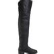 Pleaser Maverick Men s Pig Leather Thigh High Boots