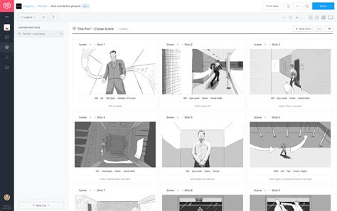 Plot The Best Free Online Storyboard Software