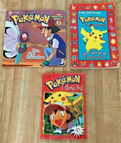 Pokemon Books eBay