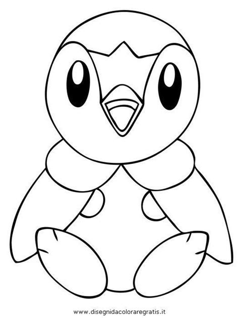 Pokemon Coloring Pages Piplup Coloring Pages Pinterest