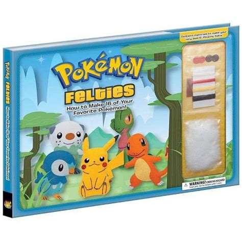 Pokemon Felties How to Make 16 of Your Favorite Target