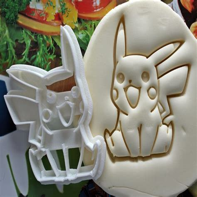 Pokemon Pikachu Face 101 Cookie Cutter