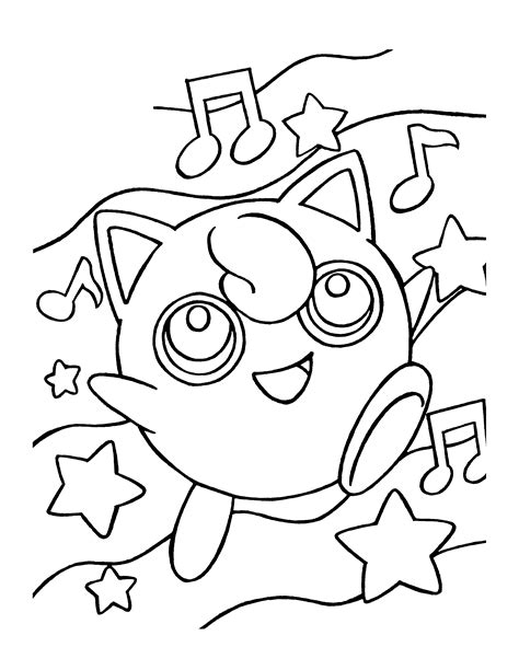 Pokemon Piplup Coloring Pages 203 Free Printable