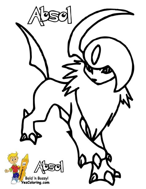 Pokemon Type Fire Coloring Pages for Kids