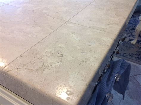 Polishing Marble Floor Tile Dull Spots Countertop Specialty