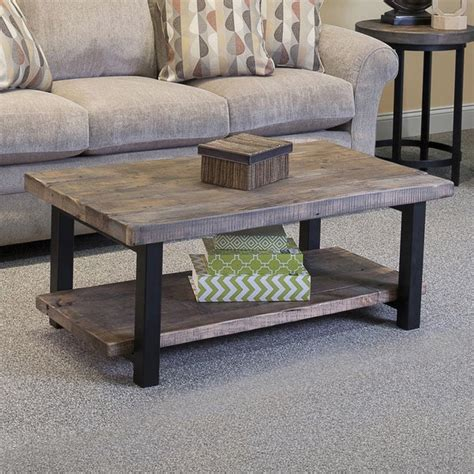 Pomona Coffee Table Rustic Natural houzz