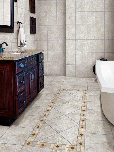 Porcelain Tile Bathroom Floors HGTV