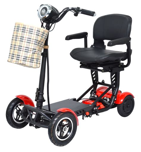 Portable Mobility Scooters Foldable and Lightweight