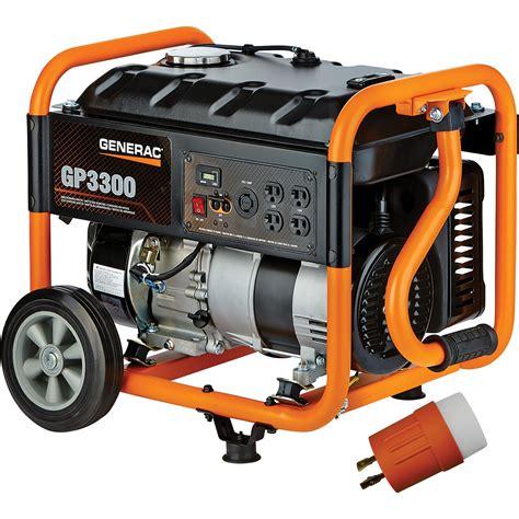 generac 2 images generac gp series portable generator portable products generac mobile