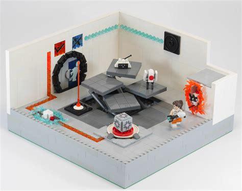 Portal Looks Great As A Lego Diorama Kotaku