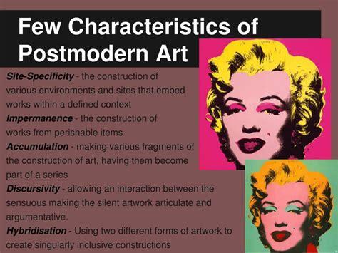 Postmodernist Art Definition Characteristics History
