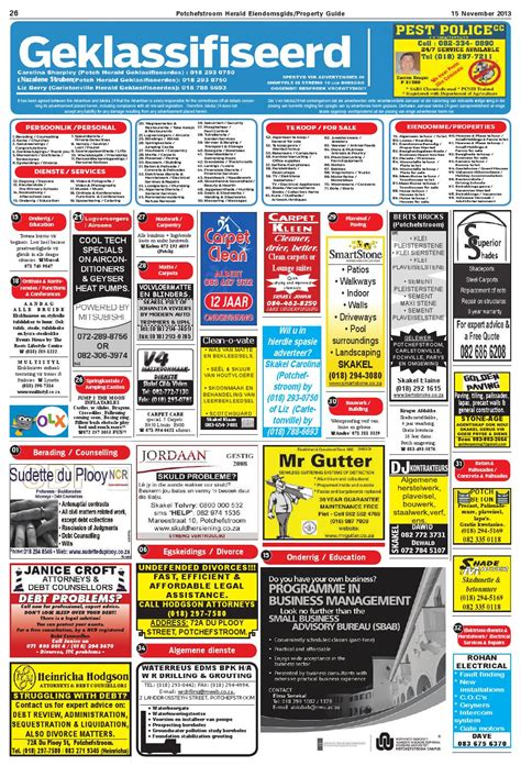Potchefstroom Herald 14 November 2013 issuu