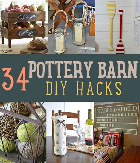 Pottery Barn Hacks DIY Projects Craft Ideas How To s for