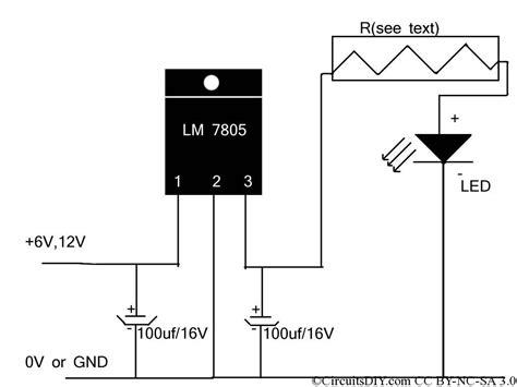 Power LED Driver Circuit Electronics DIY