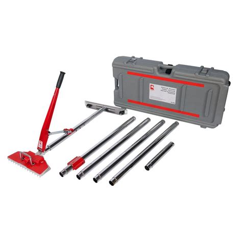 Power Lok Carpet Stretcher with 17 Locking Positions and