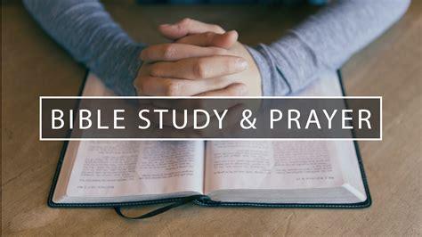 Prayer Bible Studies
