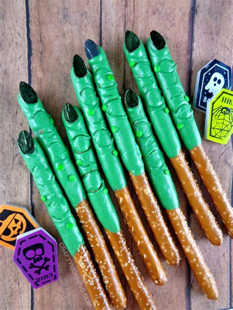 Pretzel Witch Wart Fingers Crafty Morning