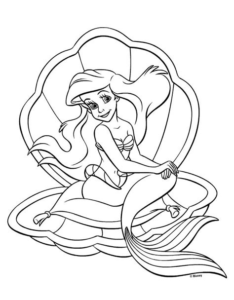 Princess Coloring Page coloring princess ariel All