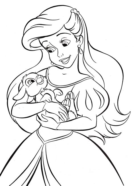 Princess Coloring Pages Print Princess Pictures to Color