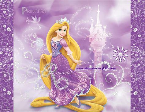 Princess Rapunzel English Short Stories for kids Short