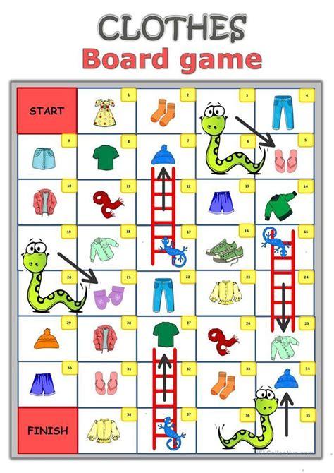 Printable Board Games Worksheets Free Printables