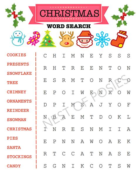 Printable Christmas Worksheets and Puzzles