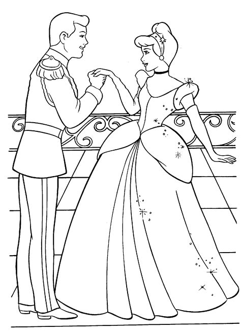 Printable Cinderella Activities and Coloring Pages