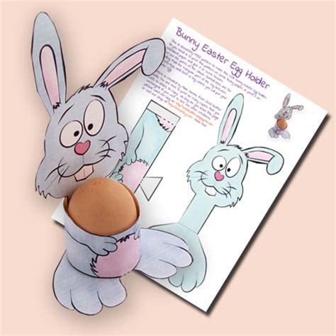 Printable Easter Egg Holders for Kids dltk holidays