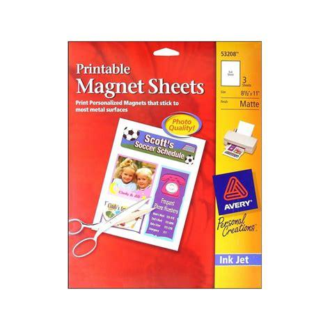 Printable Magnet Sheets Walmart