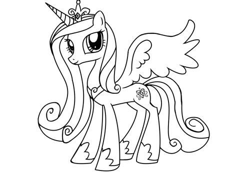 Printable My Little Pony Friendship Is Magic Princess