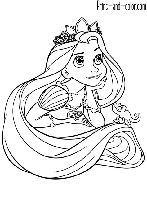 Printable Rapunzel Activities and Coloring Pages