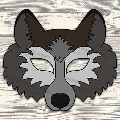 Printable Wolf Mask Coolest Free Printables