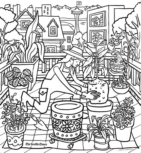 Printable coloring pages Hey kids The Seattle Times