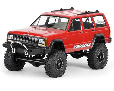 Pro Line 1992 Jeep Cherokee Clear Body For 1 10 Crawler