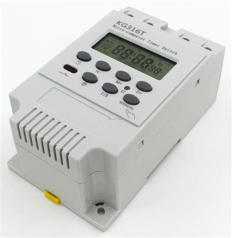 Programmable digital timer switch using a PIC