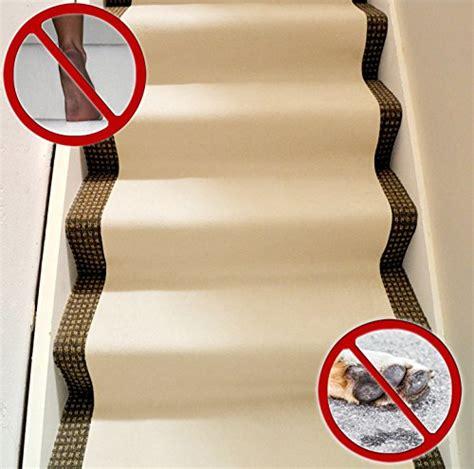 Protective non skid carpet runner for floors stairs