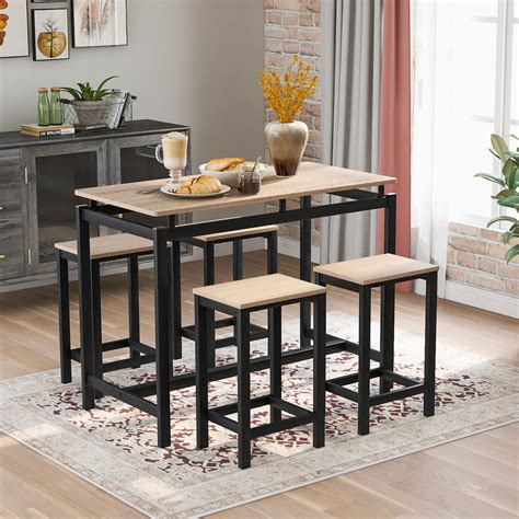Pub Table Sets Bar Stools Tables for Retail Dining
