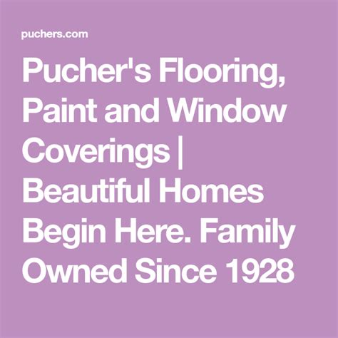Pucher s Flooring Paint and Window Coverings Home