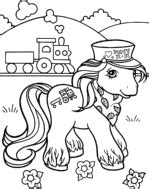 Pudgy Bunny s My Little Pony Coloring Pages